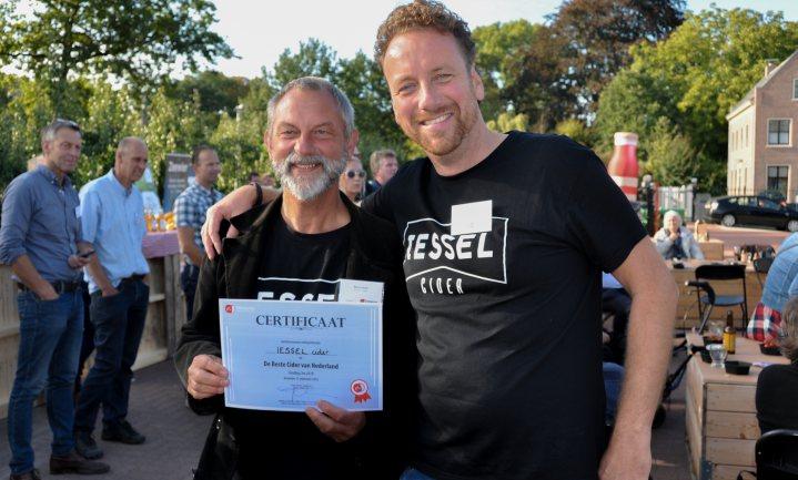 IESSEL Cider is de Beste Cider van Nederland 2018