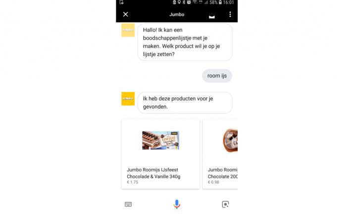 Google Assistent verstaat nu ook Nederlands en helpt bij het boodschappen doen