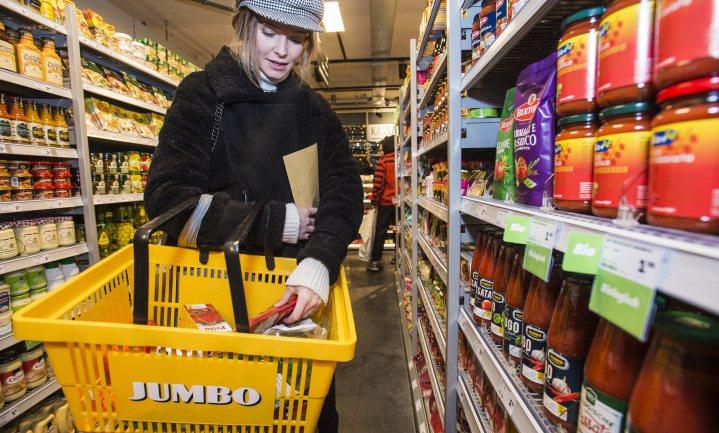 Jumbo bereikt meer dan 20% marktaandeel in Nederland en trekt België binnen