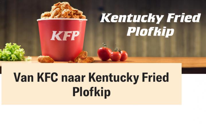 Voor Wakker Dier is KFC voortaan KFP