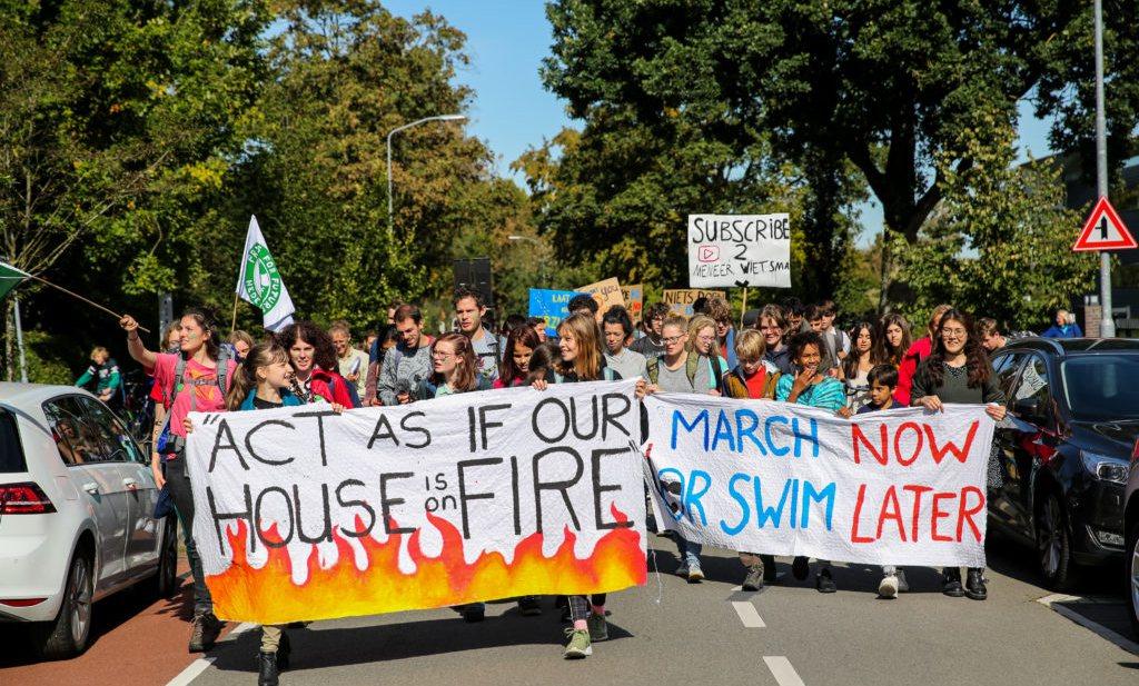 Jeugd inderdaad dupe van falend klimaatbeleid