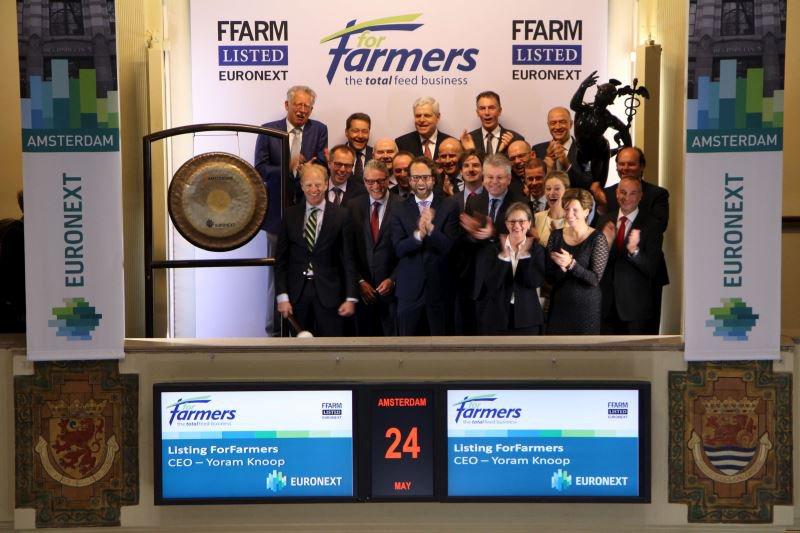 Geslaagd beursdebuut voor veevoerbedrijf ForFarmers