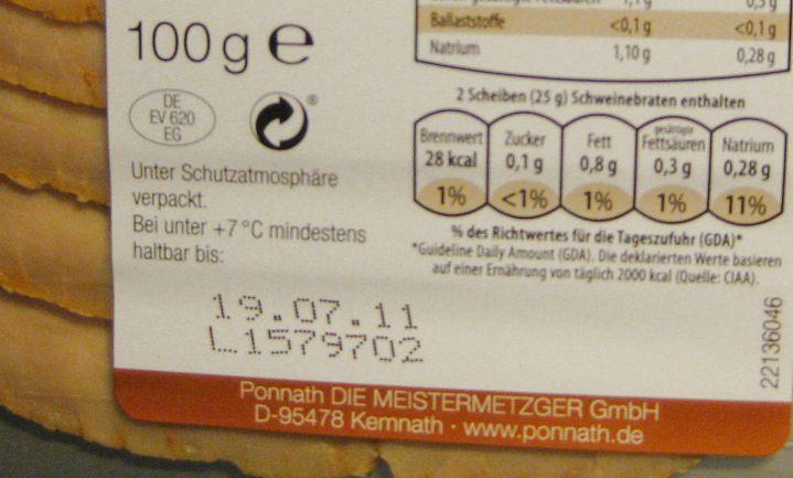 Duitsland wil 'consumptievervaldatum'