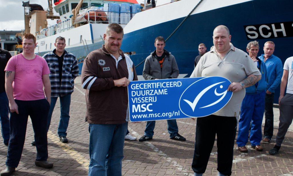 15 jaar MSC - geld telt niet en makreel dit jaar zonder logo