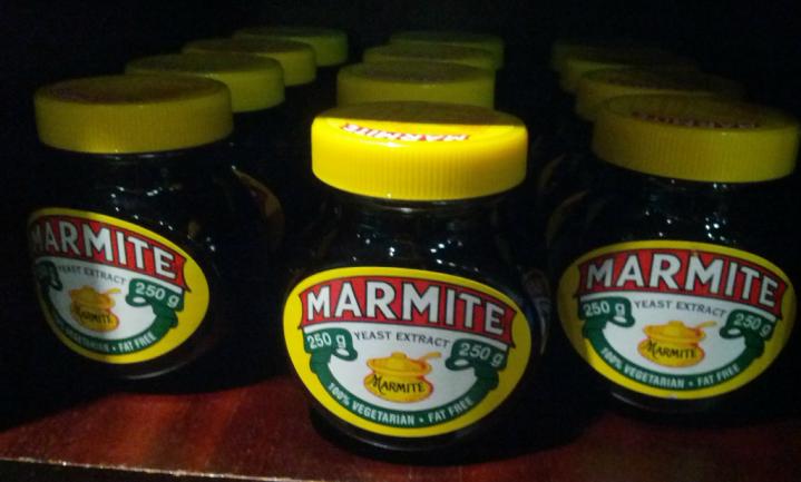 Nog even kalm aan met Marmite