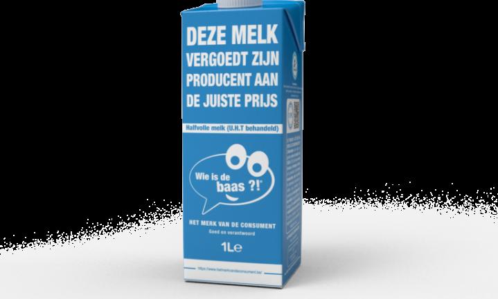 Belgische consument heeft €1,05 over voor liter 'eerlijke melk'