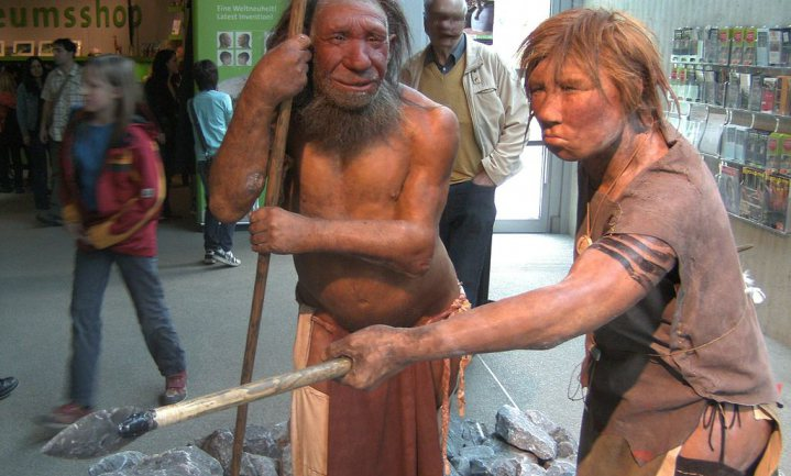 'De neanderthaler was gedoemd om uit te sterven'