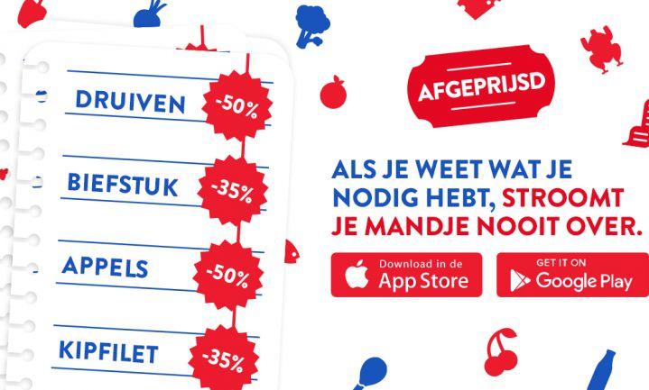 Minder voedselverspilling door boodschappenlijstje in Afgeprijsd-app