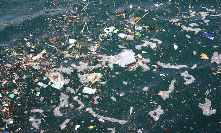 Met plasticvanger 80.000 ton plastic te lijf in Stille Oceaan