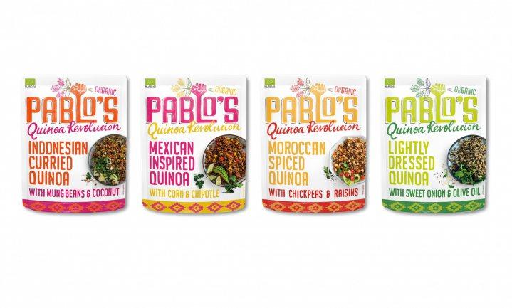 Pablo's Quinoa Revolución: duurzame ready to (h)eat pouches bomvol voedingsstoffen