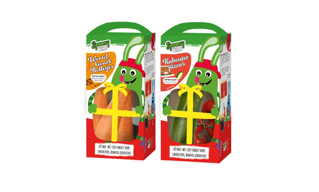 Kinderen eten makkelijker gezond met Spoony doe-het-zelf-pakketten en Slurp soep