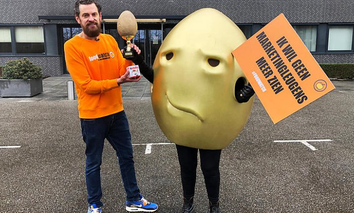 Driedubbeldure Nutella wint Gouden Windei
