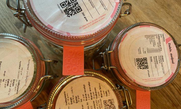 Pieter Pot: een keuken vol glazen potten