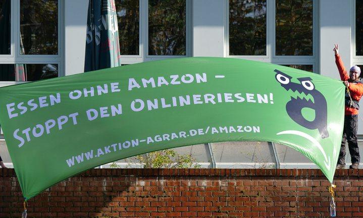 Het gaat Amazon niet voor de wind in Duitsland