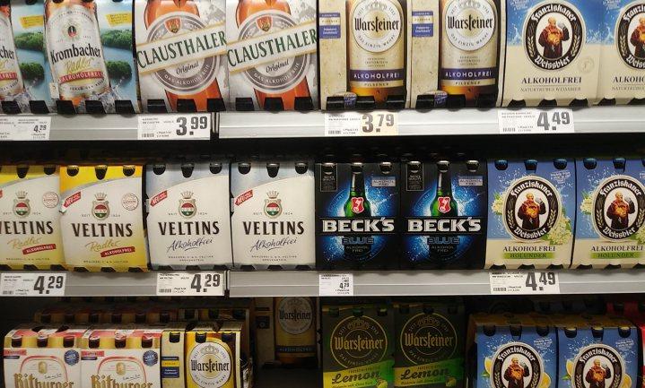Alcoholvrij met te veel alcohol
