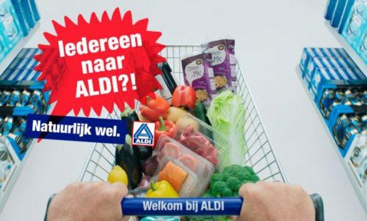 ALDI voor het eerst in de geschiedenis op Nederlandse tv