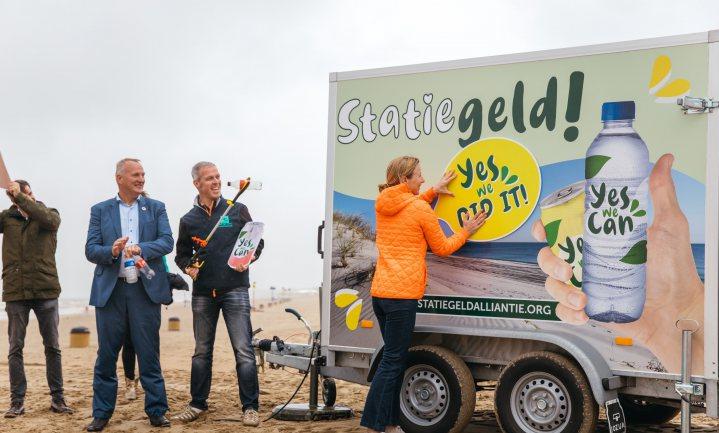 Statiegeldalliantie viert feest, vanaf vandaag €0,15 statiegeld op kleine plastic flesjes