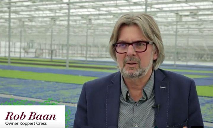 Lintje voor tuinder en anti-ziekte activist Rob Baan