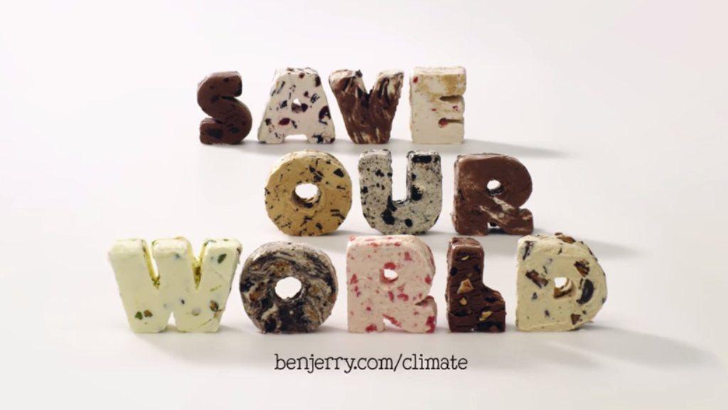 Ben & Jerry's leggen klimaatverandering uit met SOS-ijs