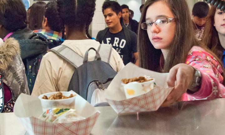 Michelle Obama's schoollunch liet scholieren wel gezonder eten