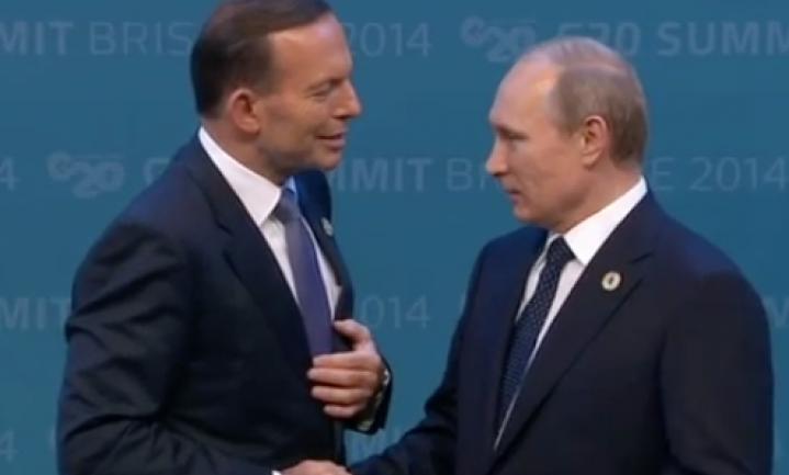 Poetin verlaat G-20 top in Australië niet voortijdig