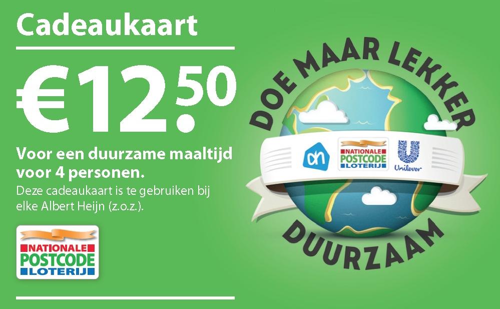 Postcode Loterij helpt Unilever en AH duurzaam promoten