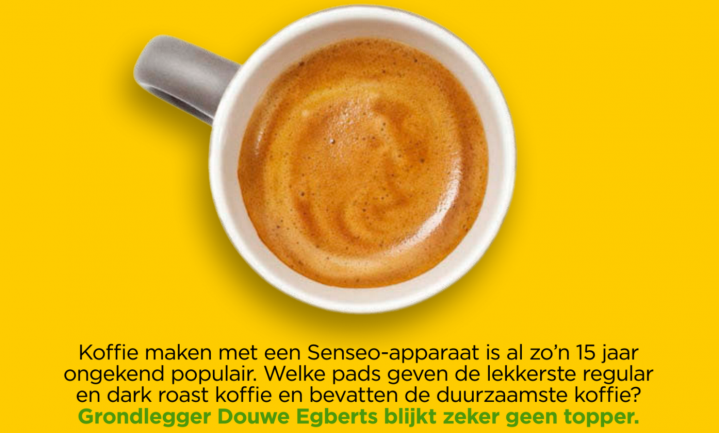'Koffiepads Douwe Egberts duur en niet lekker'