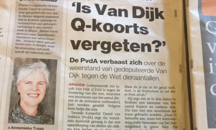 Varkenshouders willen Wet Diertallen niet, Brabant wel