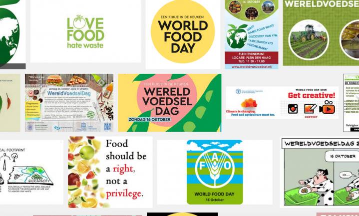 Waarom wij niet over wereldvoedseldag schrijven
