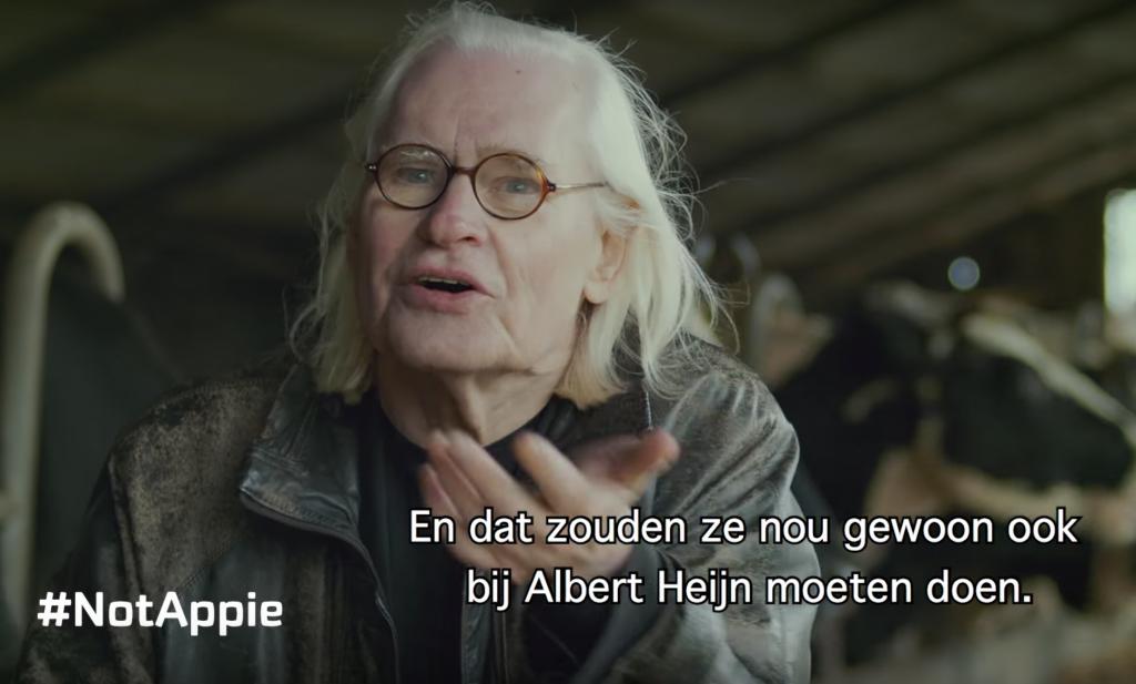 Albert Heijn laat het definitief schuren in onze melkveehouderij