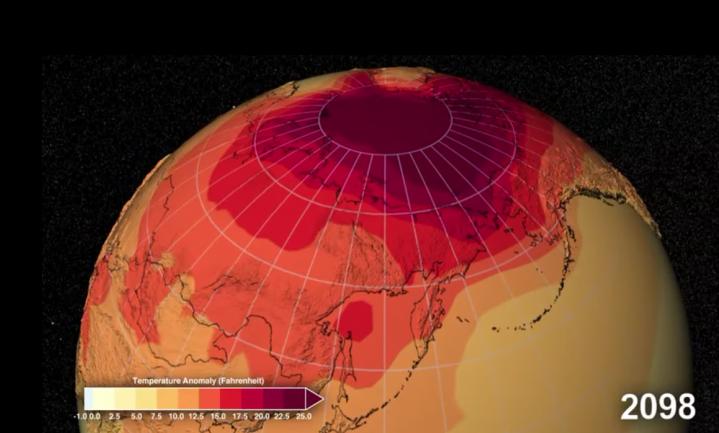 Bij een kijkje van NASA in de toekomst breekt je spontaan het zweet uit
