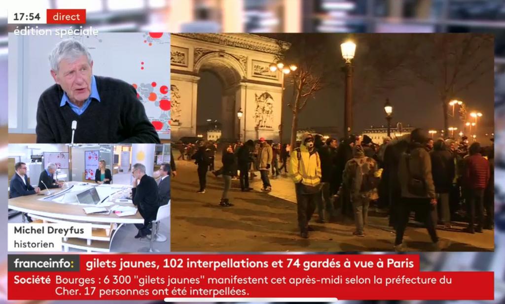 Ruim 84.000 hesjes op straat in Frankrijk, wordt vervolgd