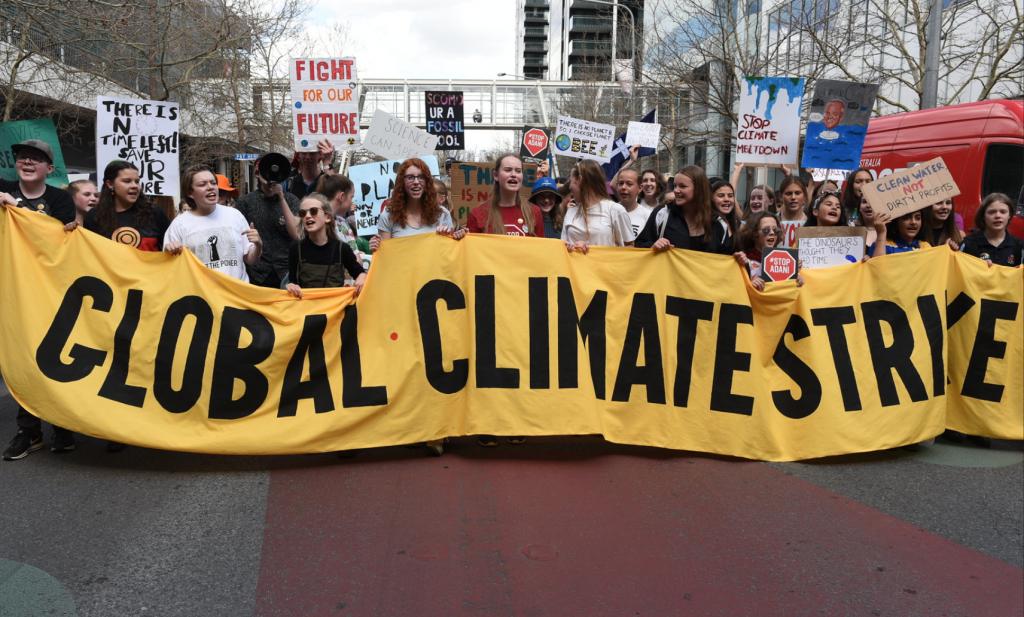 Klimaatstakingsweek van start, Nederland bescheiden begonnen