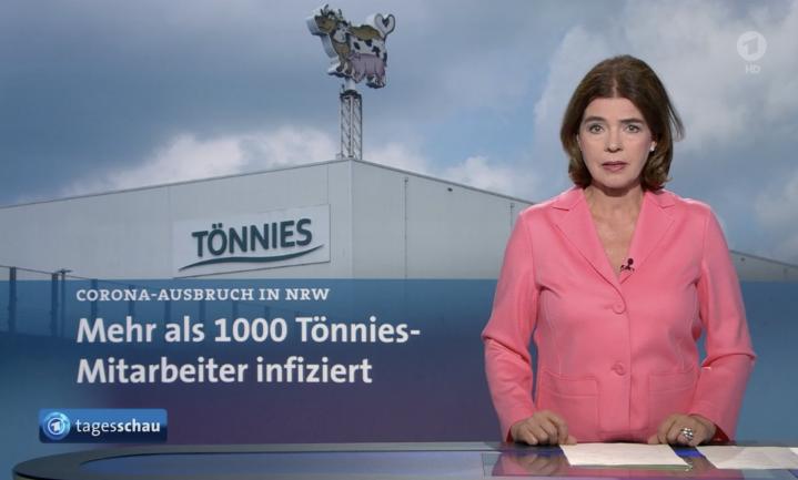 7.000 man personeel van Duitslands grootste slachter in quarantaine
