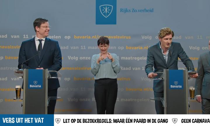 Vaccinatiebewijs horeca geen taboe, winst voor Unilever, Bavaria neemt persconferentie op de hak
