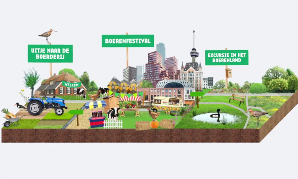 Met €5 miljoen Postcode-geld gaat Natuurmonumenten in Rotterdam de boer op