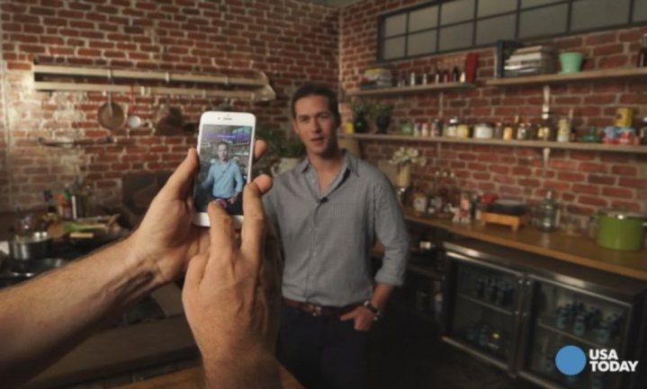 Snapchat-app 'kantelt' keuken voor mobiele kijkers