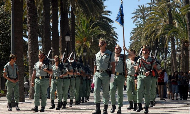 Te zwaar Spaans 'Legión' verplicht op dieet