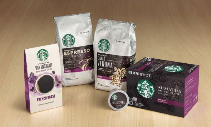 Nespresso, what else? Starbucks dus