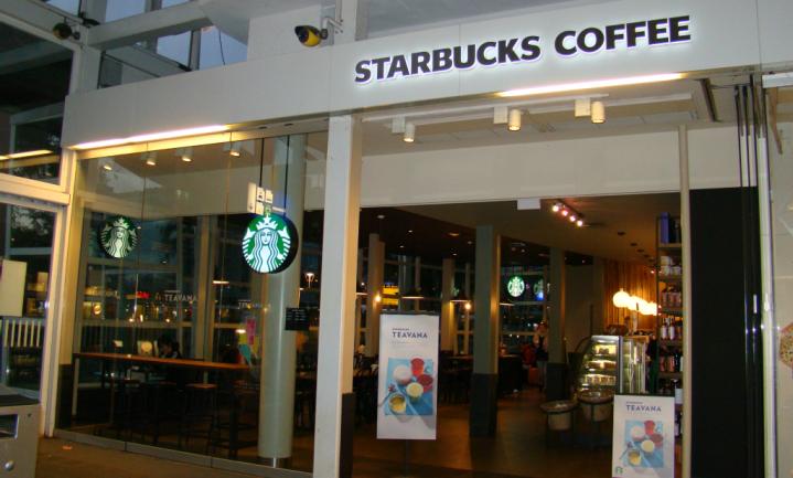 De ramen van Starbucks
