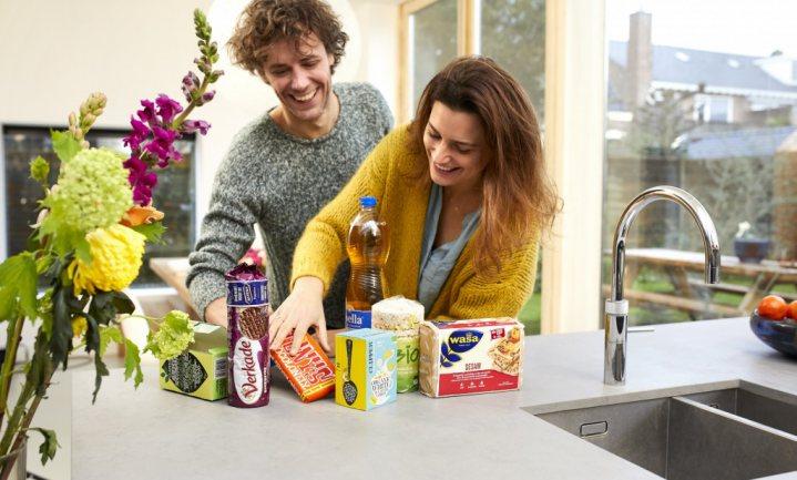 Altijd pindakaas aan huis bezorgd, zonder uitstoot