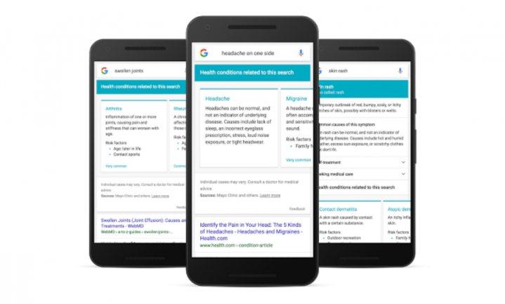 Google werkt aan betrouwbaarheid bij bepaling ziektes