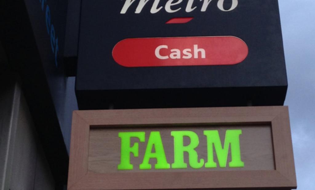 Supermarkt Tesco begint 'Boerderij' in Londen