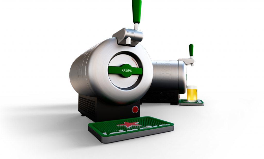 Heineken lanceert premium design thuistap: THE SUB