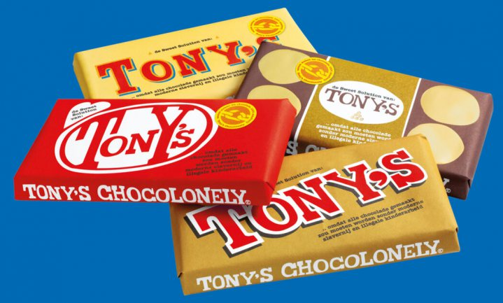 Tony's kopieert Twix, Toblerone, Ferrero Rocher en Kitkat