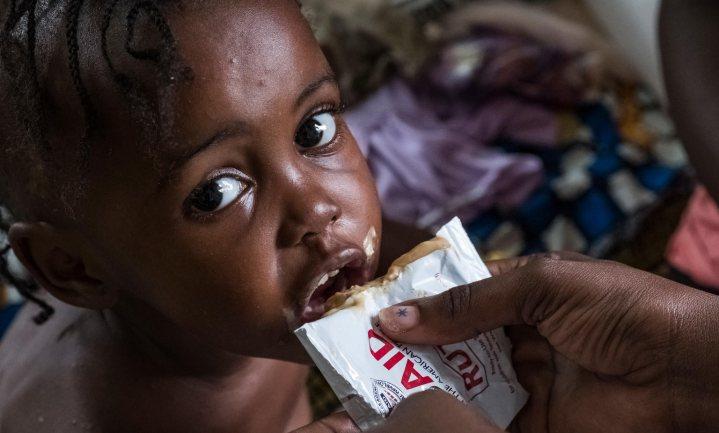 Unicef: '1 op 3 jonge kinderen krijgt niet de juiste voeding om te groeien'