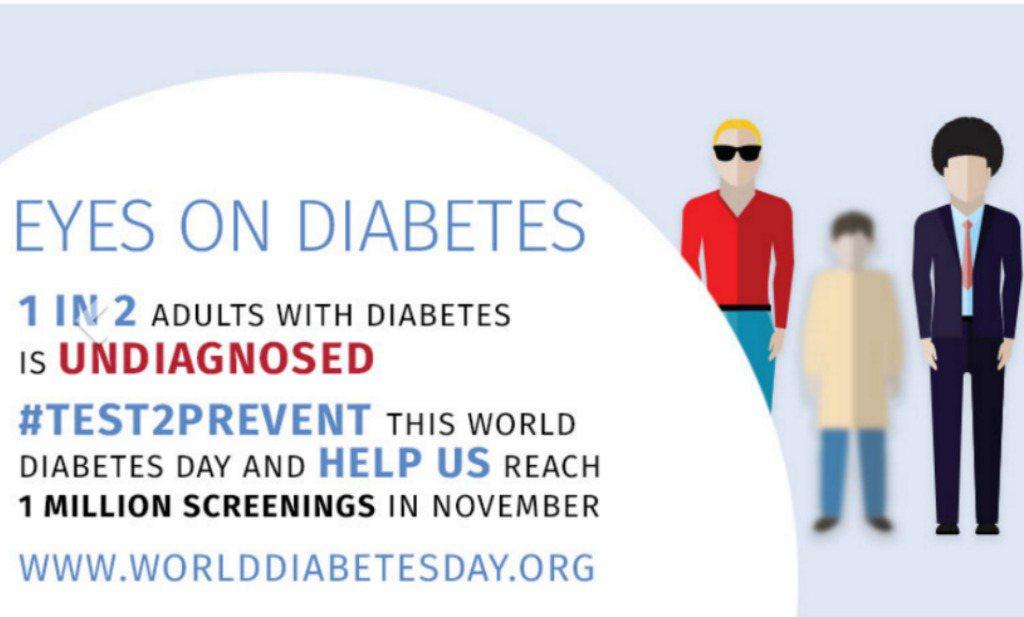 Vandaag: Wereld Diabetes Dag
