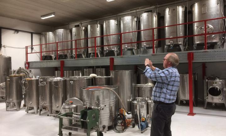 Van alle boeren zijn wijnboeren het meest actief in korte-ketenverkoop