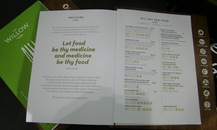 'Food as medicine'-restaurant