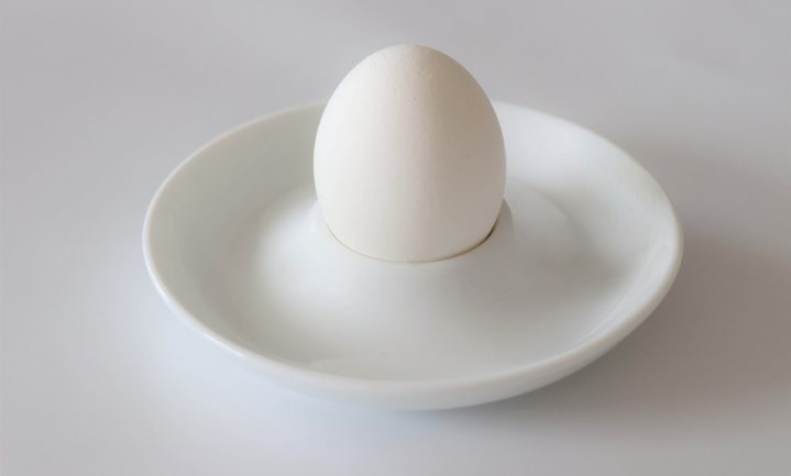 Witte eieren zijn duurzamer en beter te beschilderen